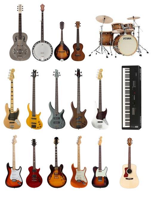 instruments de musique vente
