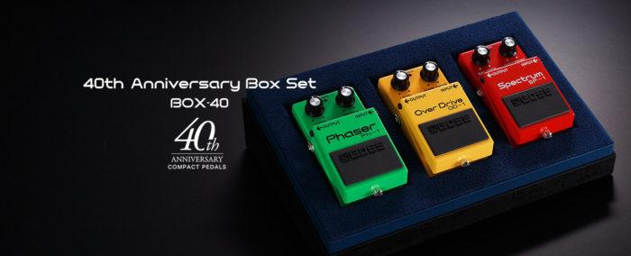 Boss Box 40th Anniversary