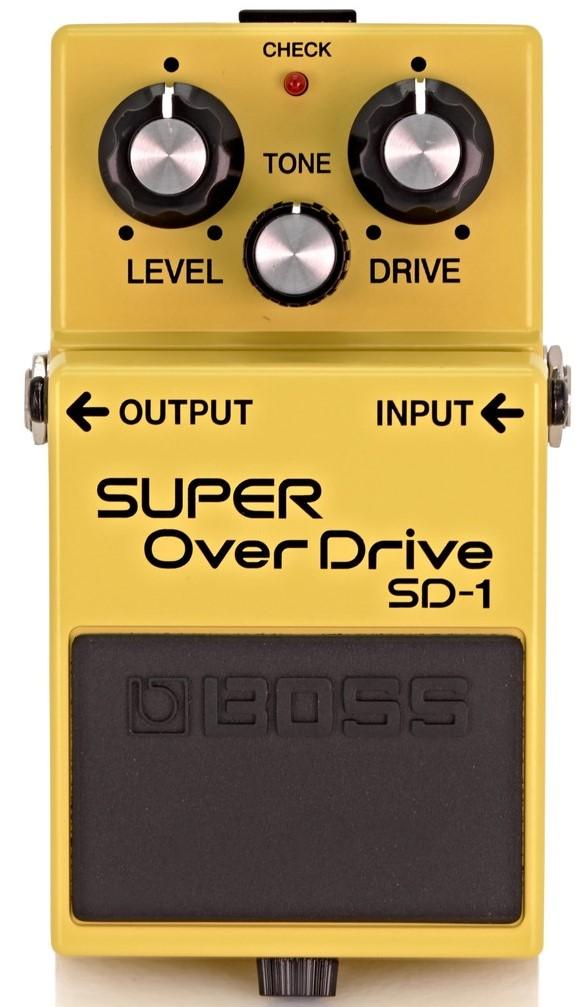 boss sd1 overdrive