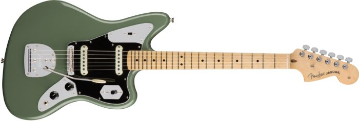 fender american pro jaguar antique olive