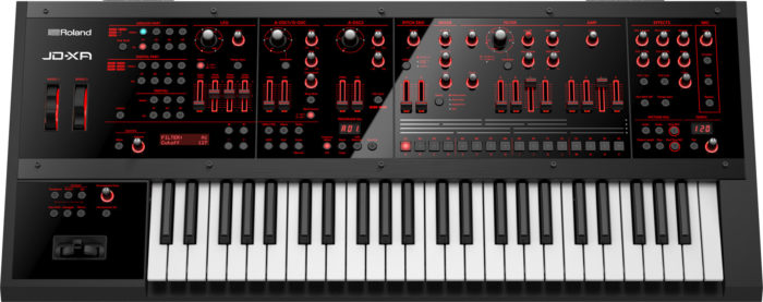 roland jd-xa hybrid synthesizer