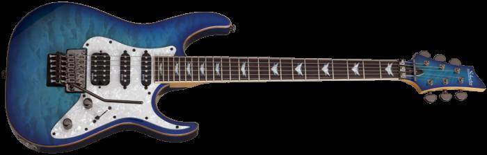Schecter Banshee 6 Extreme Ocean Blue