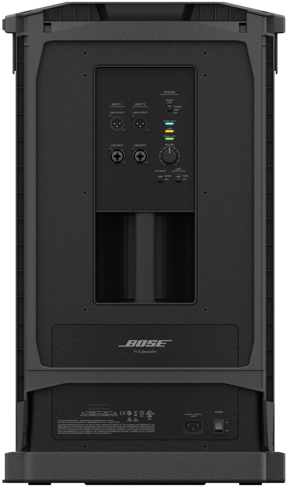 bose f1 subwoofer music space monthey. Black Bedroom Furniture Sets. Home Design Ideas